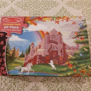 Melissa & Doug Enchanted castle puzzle